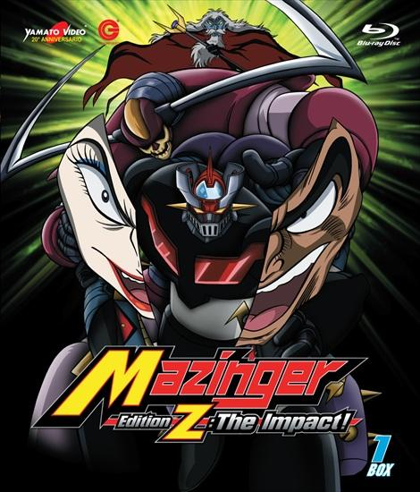 BLU-RAY MAZINGER EDITION Z: THE IMPACT! BOX 1 (2 BLU-RAY)
