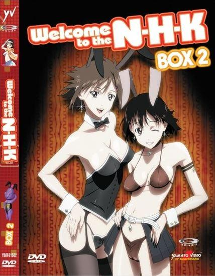 DVD - WELCOME TO THE NHK - BOX #02 (2 DVD)