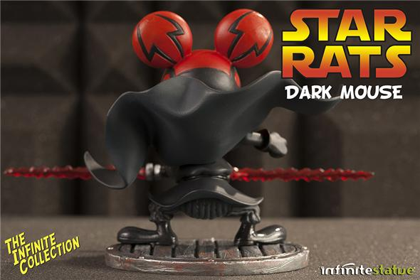 RAT-MAN STATUE INFINITE COLL #4 DRKMOUSE