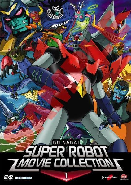 BLURAY - GO NAGAI SUPER ROBOT MOVIE COLLECTION 01