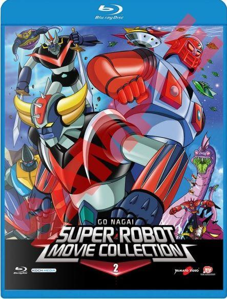 BLURAY - GO NAGAI SUPER ROBOT MOVIE COLLECTION 02