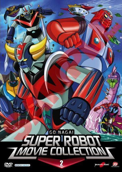 DVD - GO NAGAI SUPER ROBOT MOVIE COLLECTION 02
