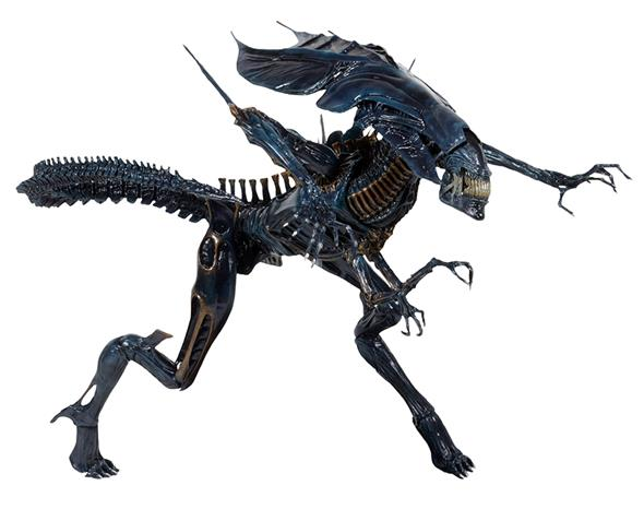 ALIENS XENOMORPH QUEEN DLX BOX -REPRINT-