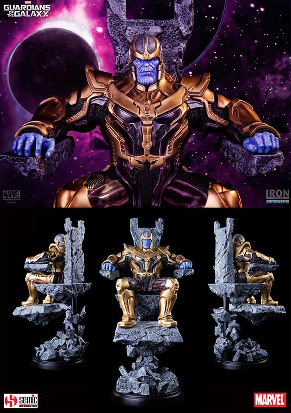 1/10 GUARDIANS OF THE GALAXY THANOS STATUE