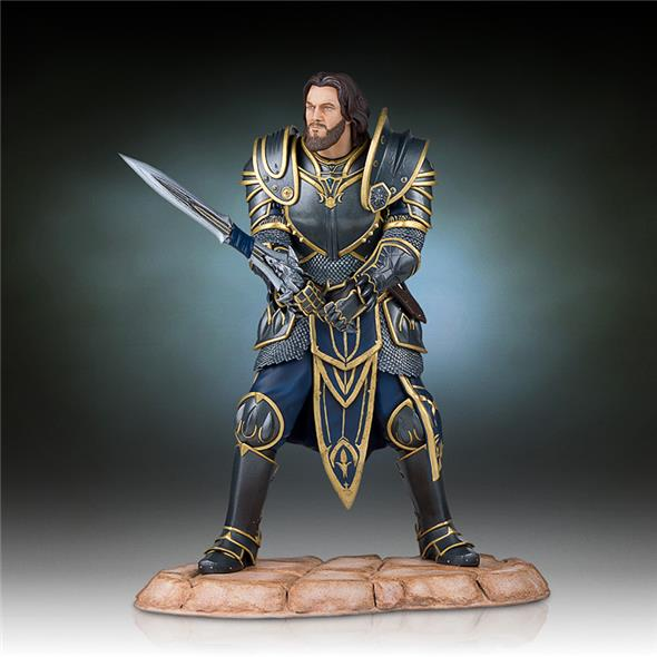 WORLD OF WARCRAFT - LOTHAR STATUE