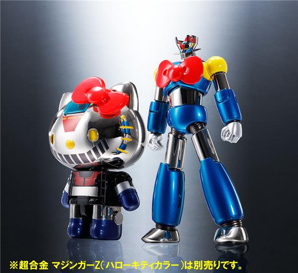 HELLO KITTY MAZINGER Z COLOR CHOGOKIN