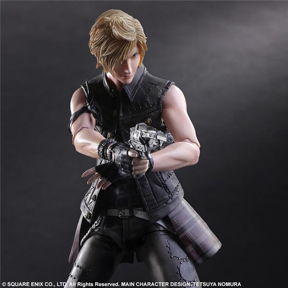 PLAY ARTS KAI - FINAL FANTASY XV PROMPTO P.A.K.