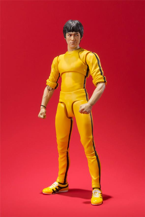 S.H. FIGUARTS BRUCE LEE YELLOW SUIT
