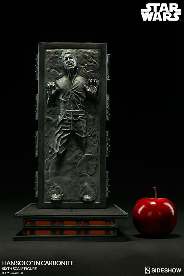 1/6 SIDESHOW - STAR WARS HAN SOLO IN CARBONITE