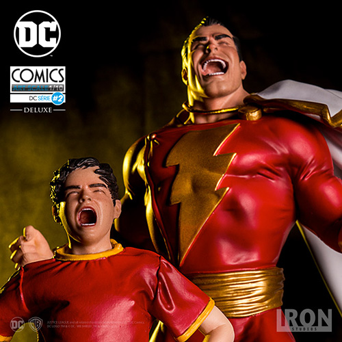 1/10 DC COMICS - SHAZAM E BILLY BATSON ART STATUE
