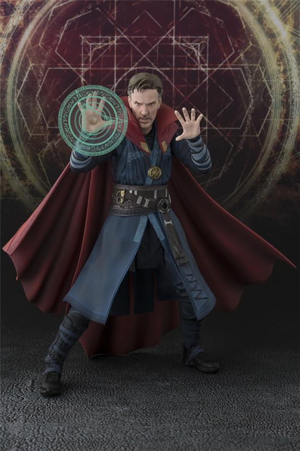 S.H. FIGUARTS - DOCTOR STRANGE BURNING FLAME SET